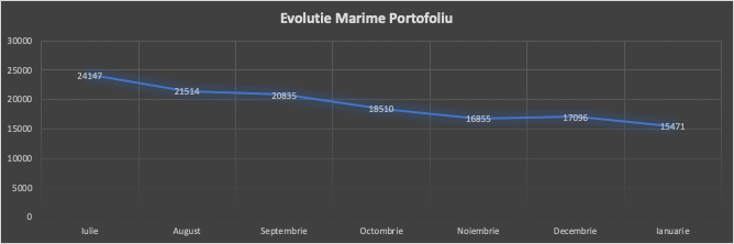 image 4 - Evolutie portofoliu Peer 2 Peer in IANUARIE 2020